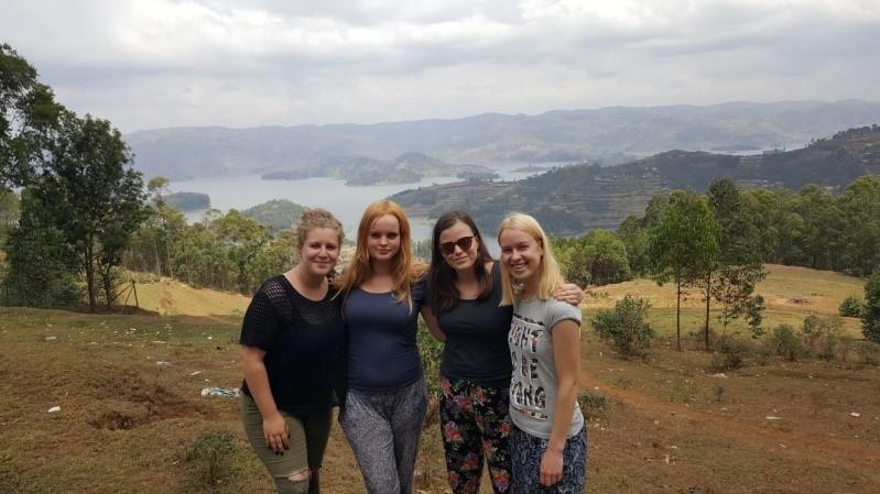 Uganda met vriendinnen