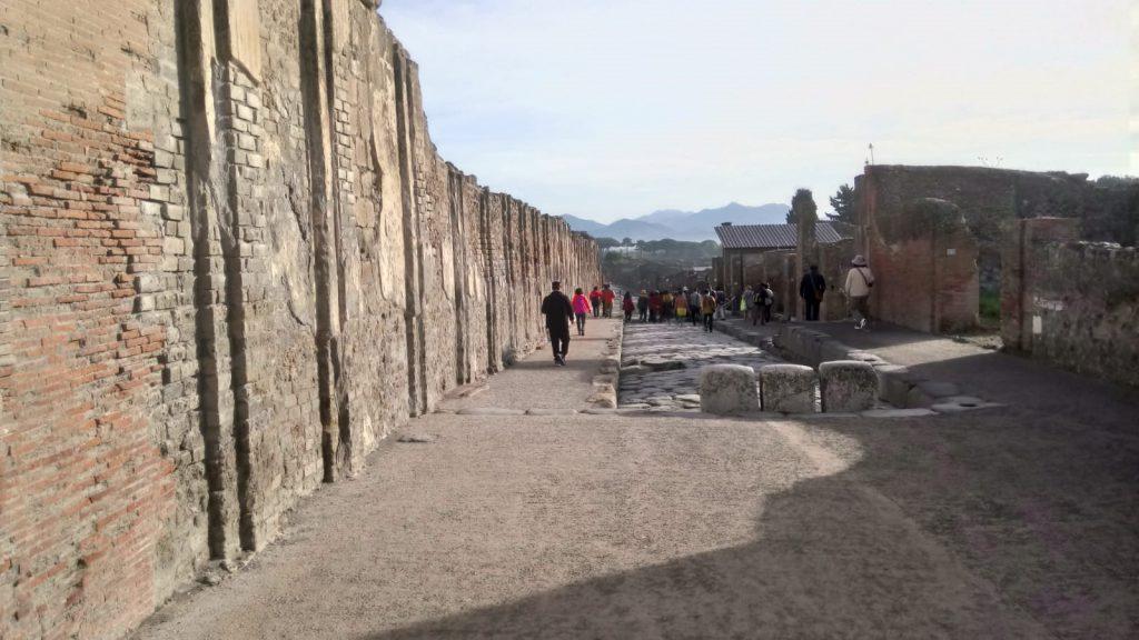 Pompeii Napels Italië