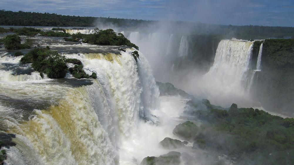 Brazilië Iguazu watervallen