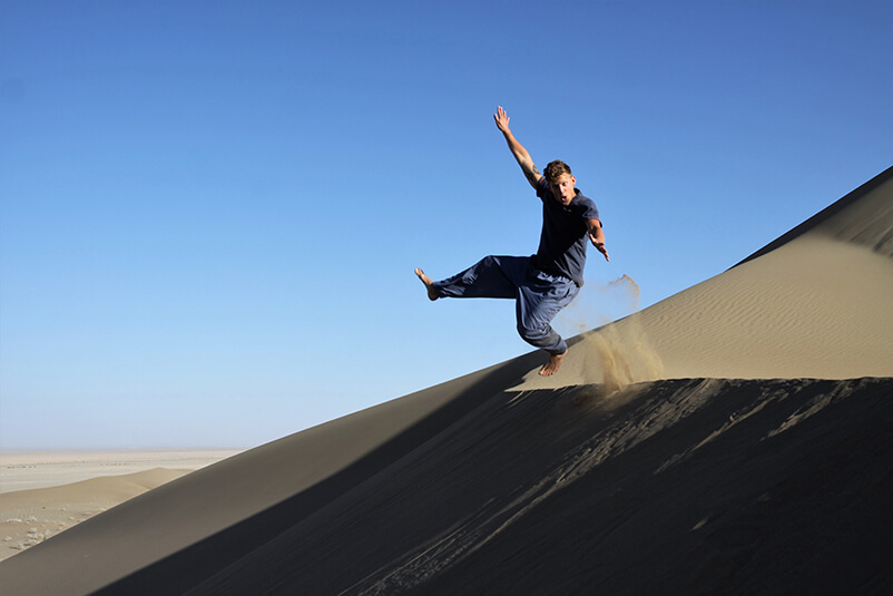 Iran woestijn