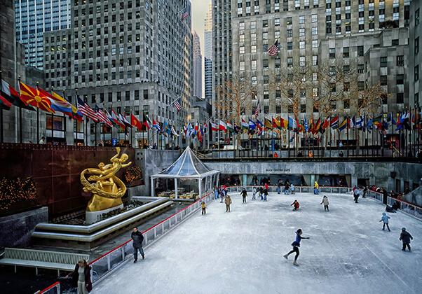 rockefeller plaza Manhattan
