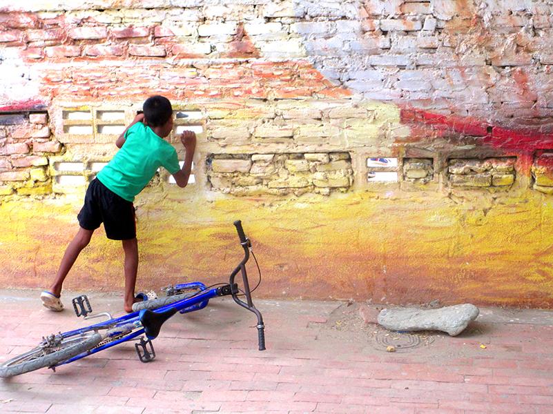 colombia muur
