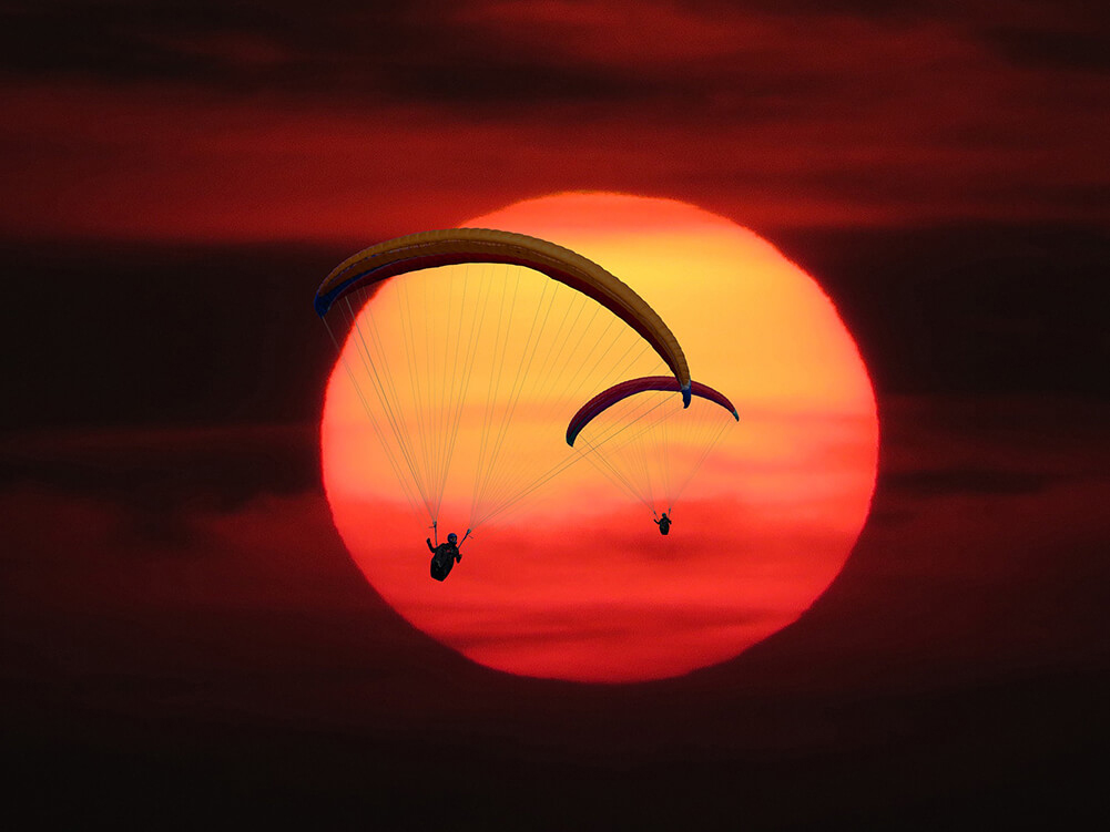 Bucketlist parachutespringen