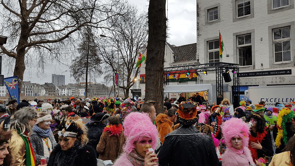 Carnaval in Maastricht feest