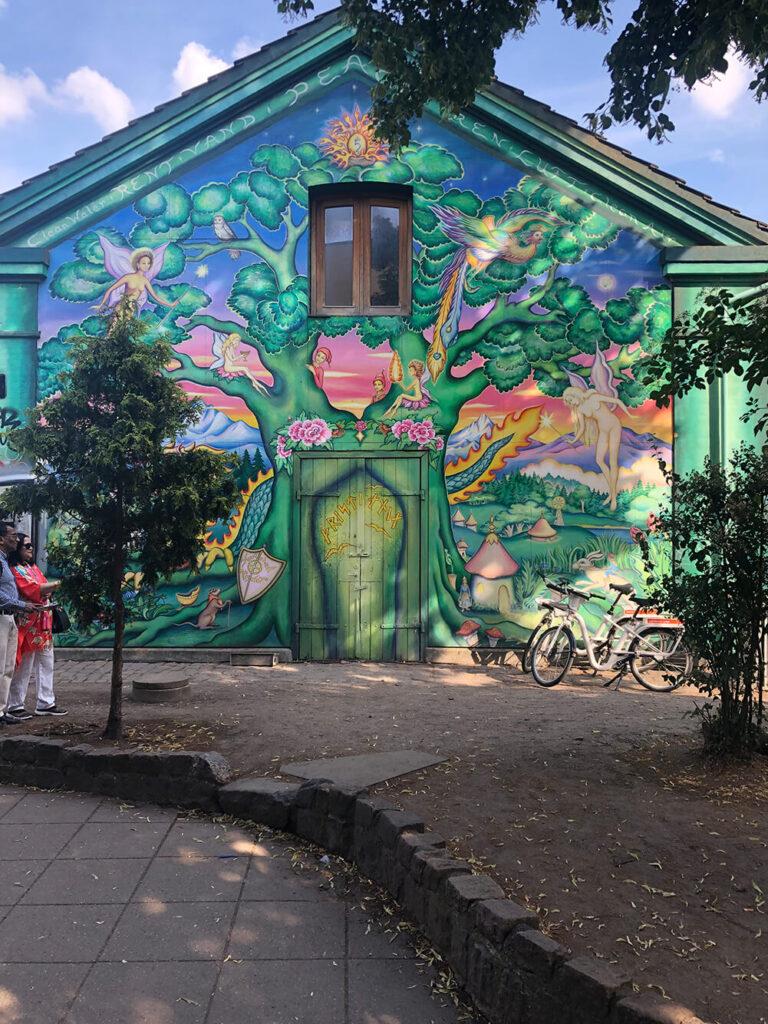 Kopenhagen Christianshavn en Christiana