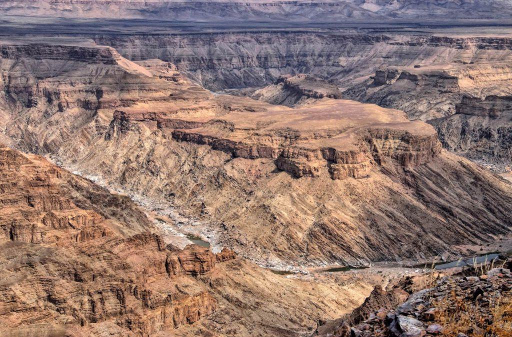 Fresh River canyon Namibië